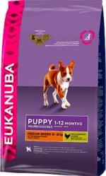 Eukanuba Puppy Medium Breed 15 kg