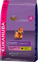 Eukanuba Puppy Small Breed 7,5 kg