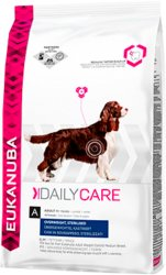 Eukanuba Daily Care Overweight/Sterilized 12,5 kg