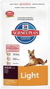 Hill's Science Plan Dog Adult Light Medium 12 kg