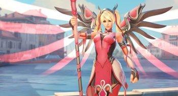 Overwatch selger rosa Mercy-kostyme for å støtte kampen mot brystkreft
