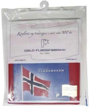 Oslo Flaggfabrikk Norsk Flagg 100 cm