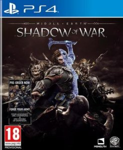 Middle-earth: Shadow of War til Playstation 4