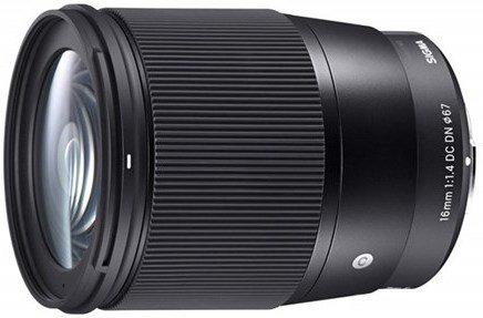 Sigma 16mm f/1.4 DC DN Contemporary for Sony E