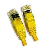 Cat.6 UTP 0.5m Yellow