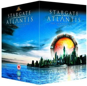 Stargate Atlantis Sesong 1-5 (26 disc)