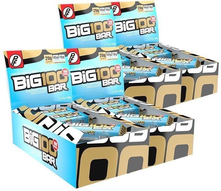 Proteinfabrikken Big 100 Protein Bar 60x100g