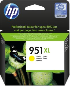 HP 951XL Blekk Gul