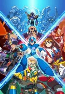 Mega Man X Legacy Collection til Switch