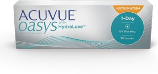 Johnson & Johnson Acuvue Oasys 1-Day for Astigmatism 30p