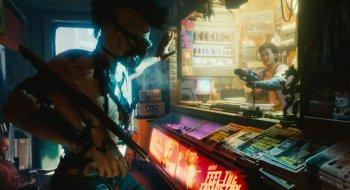Cyberpunk 2077 vist frem for første gang