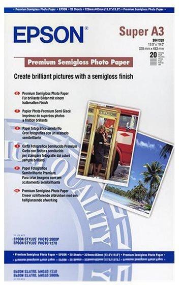 Epson Papir Premium Semigloss Fotopapir