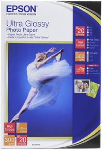 Epson Papir Ultra Glossy Photo Paper 20 stk 10x15