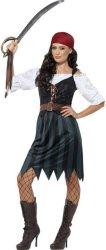 Pirat Kostyme Dame