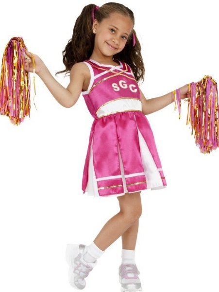 Smiffys Cheerleader (Barn)
