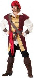 Deluxe Pirat Kostyme