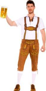 Lederhosen øl kostyme