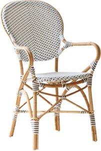 Isabell caféstol med armlener