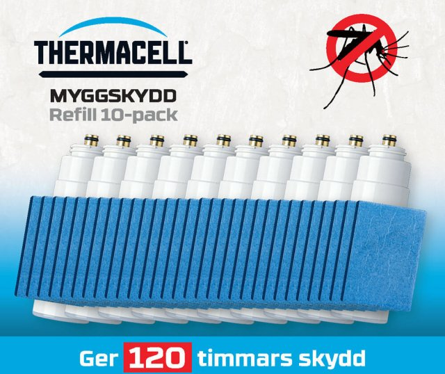 Thermacell MR Myggjager Refill 10pk