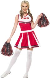 0 Cheerleader kostyme