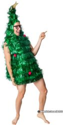 Juletredrakt kostyme
