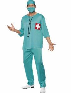 Doktor Kirurg Kostyme