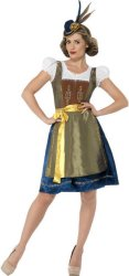 Oktoberfest Heidi Kostyme