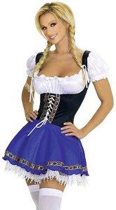 Flørten Serverings Oktoberfest Kostyme