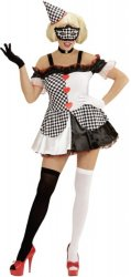 Pierrot Girl kostyme