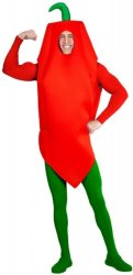 Chili pepper kostyme