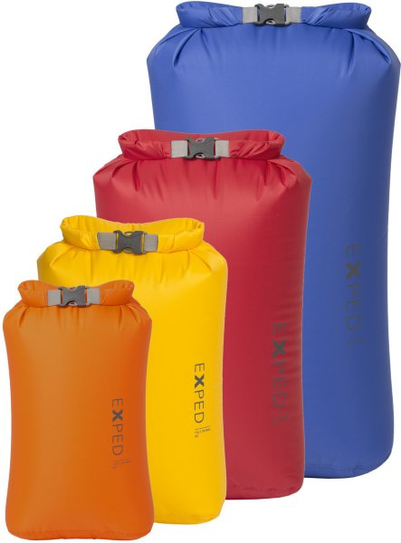 Exped Fold Drybag XS-L BS 4-Pack