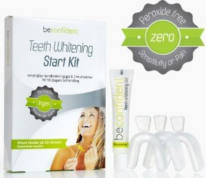 BeconfiDent Teeth Whitening Start Kit
