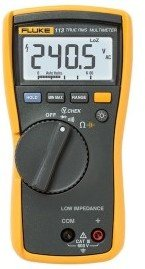 Fluke 113 Multimeter m/True RMS