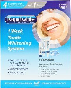 Rapid white 1-Week Tooth Whitening System