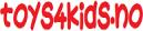 Toys4kids.no logo