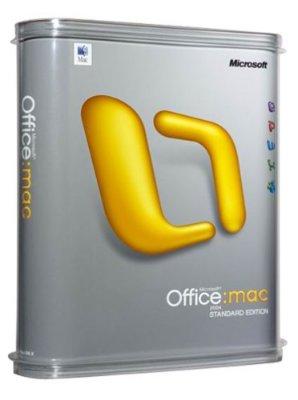 Microsoft Office 2004 for Mac Standard