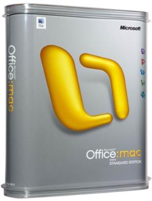 Microsoft Office 2004 for Mac Standard