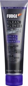 Fudge Clean Blonde Violet Toning Shampoo 300ml