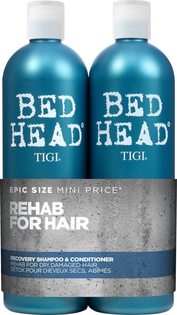 TIGI Bed Head Urban Antidotes Recovery Shampoo & Conditioner 2x750ml