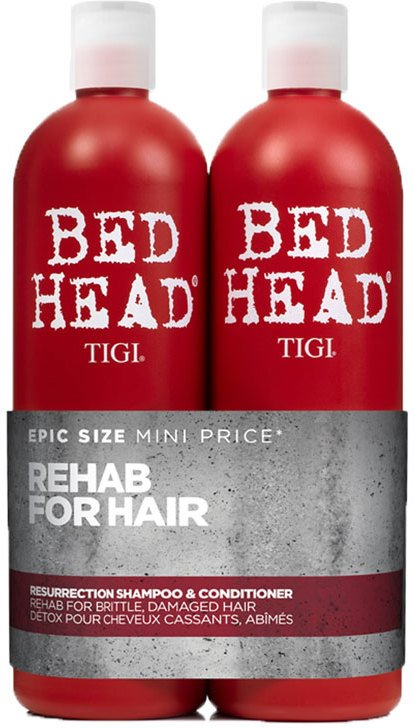 TIGI Bed Head Urban Antidotes Resurrection Shampoo & Conditioner 2x750ml