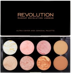 Makeup Revolution Ultra Blush Palette Golden Sugar 13g
