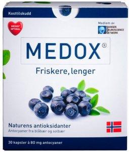 Medox Optimal 80 mg 30 stk