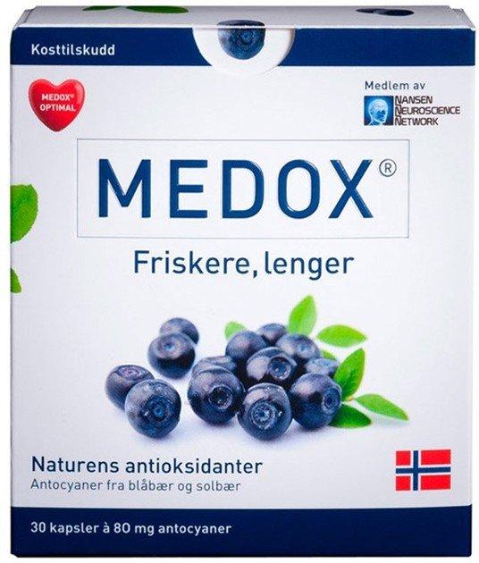 Medox Antocyaner kapsler 80mg