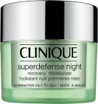 Clinique Superdefense Night Recovery Moisturizer Combination Oily to Oily 50ml