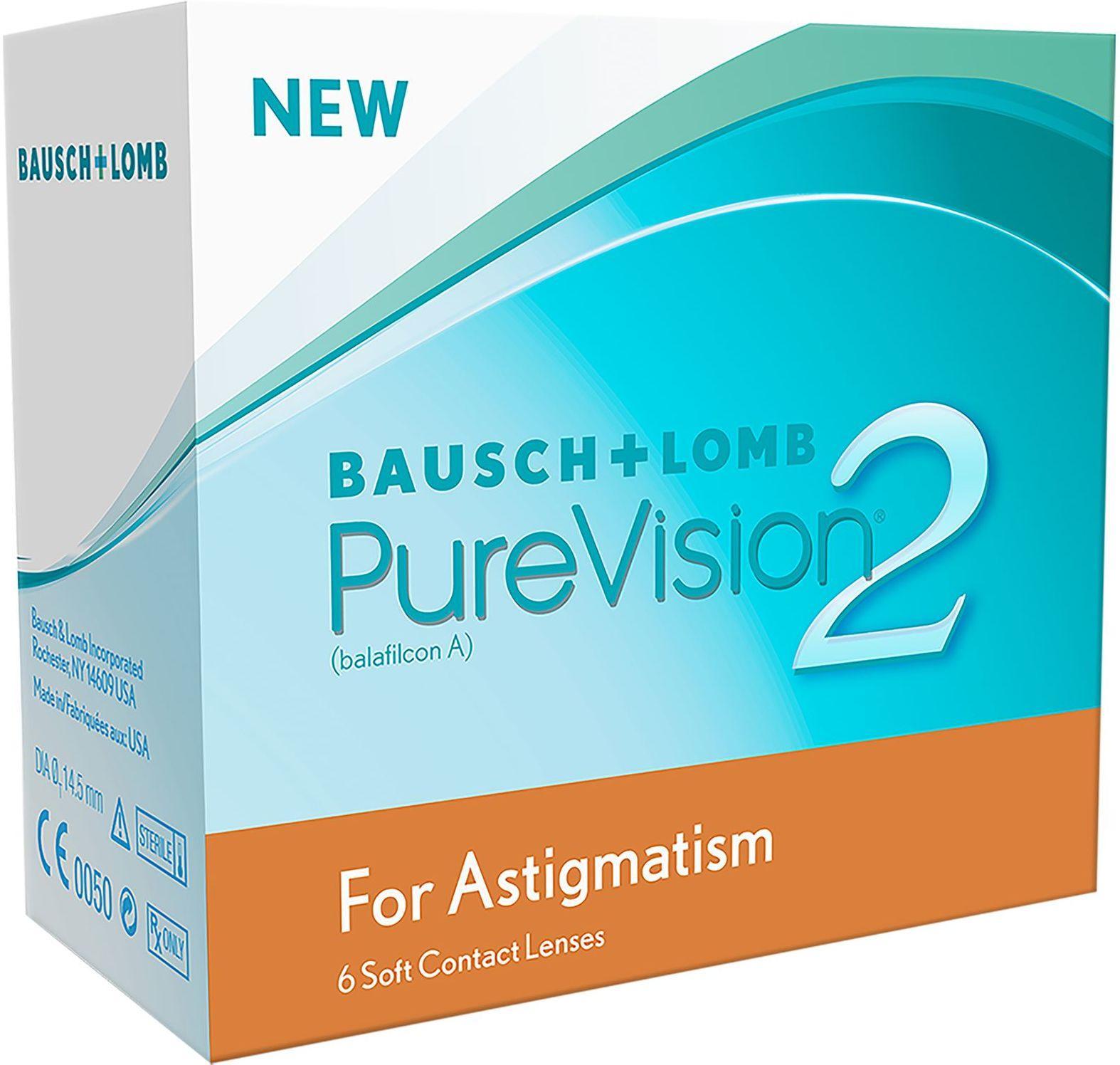 best pris p bausch lomb purevision 2 hd astigmatism 6p. Black Bedroom Furniture Sets. Home Design Ideas