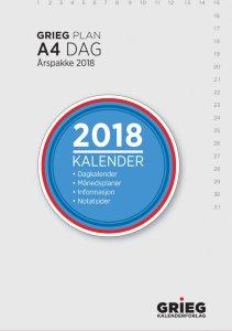 Grieg Dag A4 årspakke (2018)