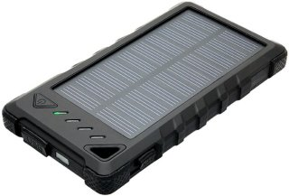 MarQuant Powerbank med Solcellepanel 8000mAh IPX44