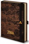 Legend of Zelda A5 hardcover notatbok