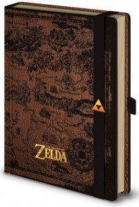 Legend of Zelda A5 hardcover notatbok