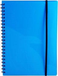 Bngers A4 notatbok med strikk